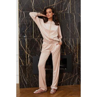 Уютные пижамные брюки из поливискозной ткани