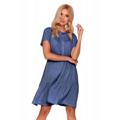 Элегантная сорочка с коротким рукавом
